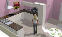 Simulation cuisine 3d