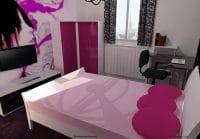 Simulation de chambre 3d