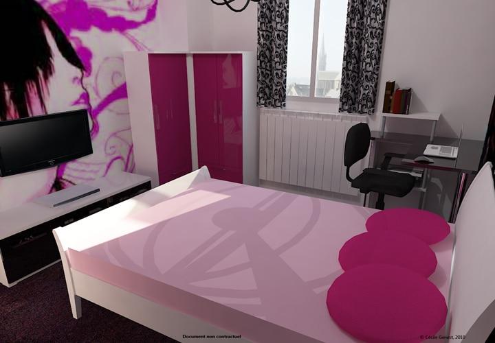 simulation de chambre 3d. Black Bedroom Furniture Sets. Home Design Ideas