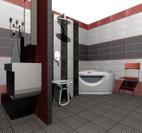 Simulation salle de bain 3d