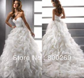 Aliexpress robe de mariée