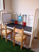 fabriquer un bureau pour enfant