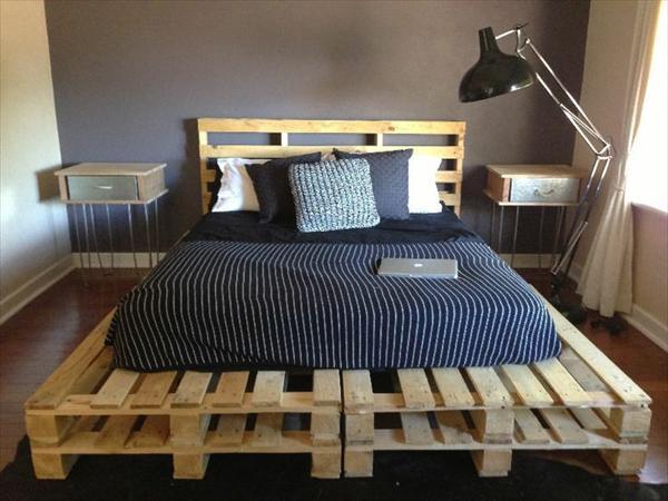 fabriquer un lit avec des palettes