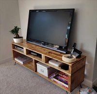 fabriquer un meuble tv en palette