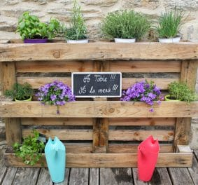 Jardiniere palette