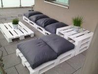 meuble avec des palette
