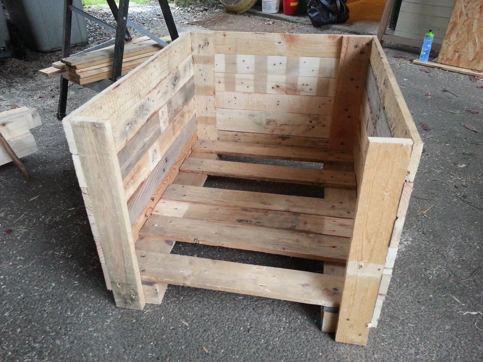 Plan niche chien palette - Fabriquer une niche ...