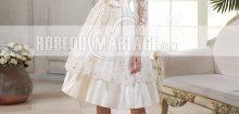 Robe de mariée courte dentelle