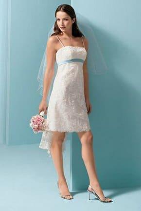 robe de mariée courte pas cher