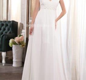 Robe de mariée enceinte