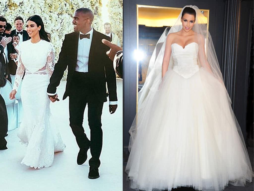robe de mariée kim kardashian