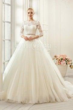 robe de mariée manche dentelle