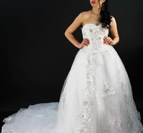 Robe de mariée orientale