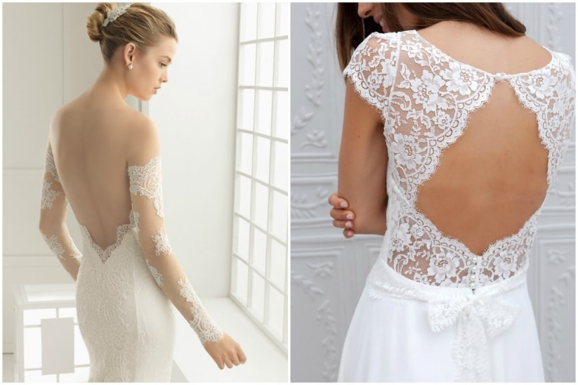 robe de mariée petite poitrine