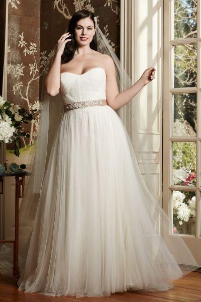 robe de mariée pour ronde