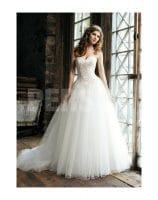 robe de mariée traine