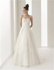 robe de mariée trapèze