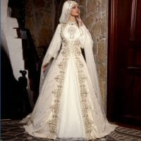 robe de mariée voilée