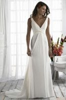 robe mariée simple