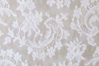 tissu robe de mariée